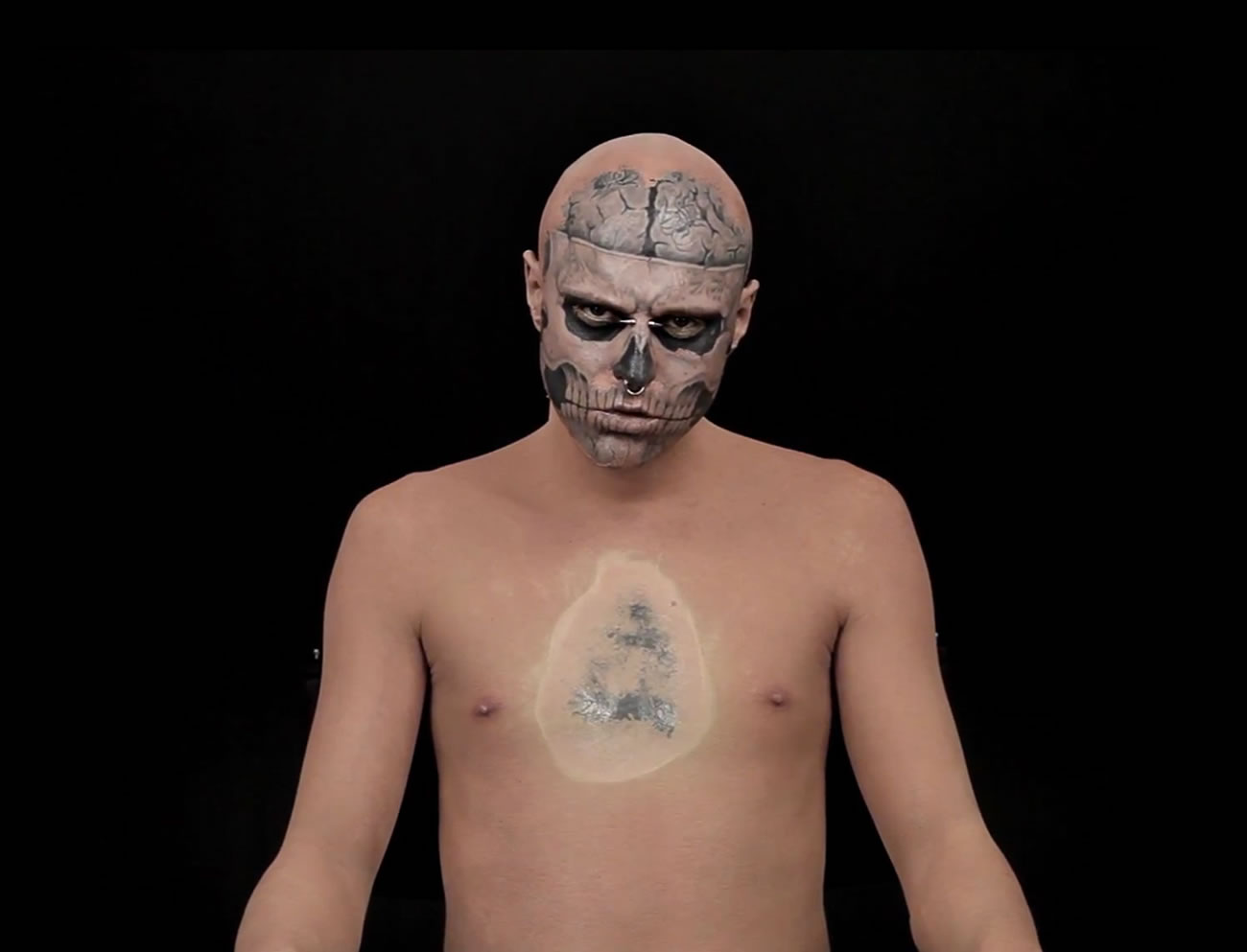 See Zombie Boy without Tattoos