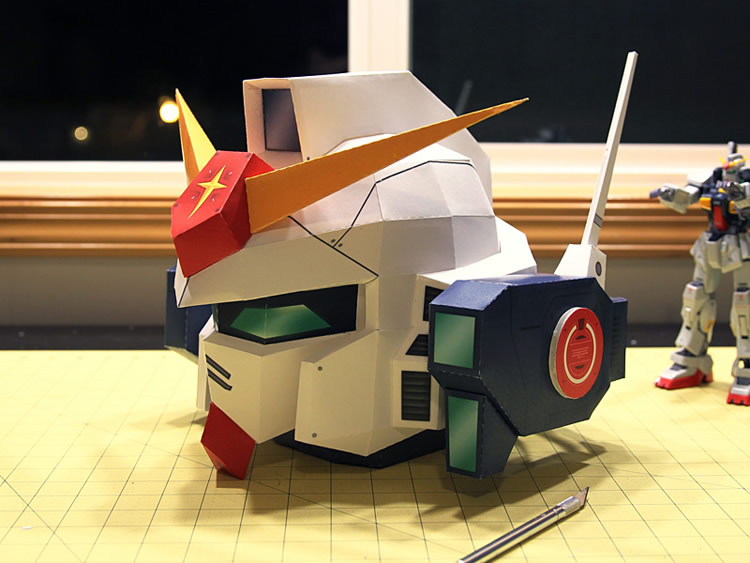 Giant Paper Robot