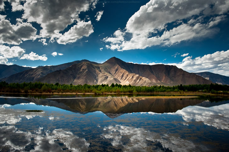 Mirrored Mountain