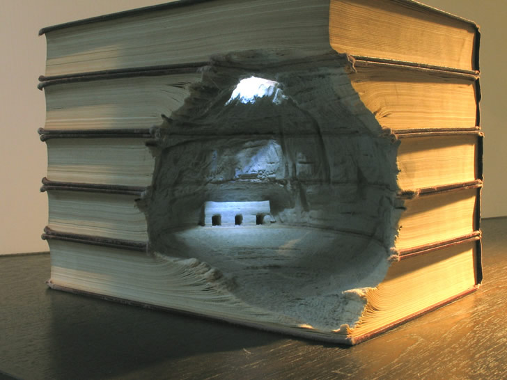 Book Sculpture by Guy Laramee (6)
