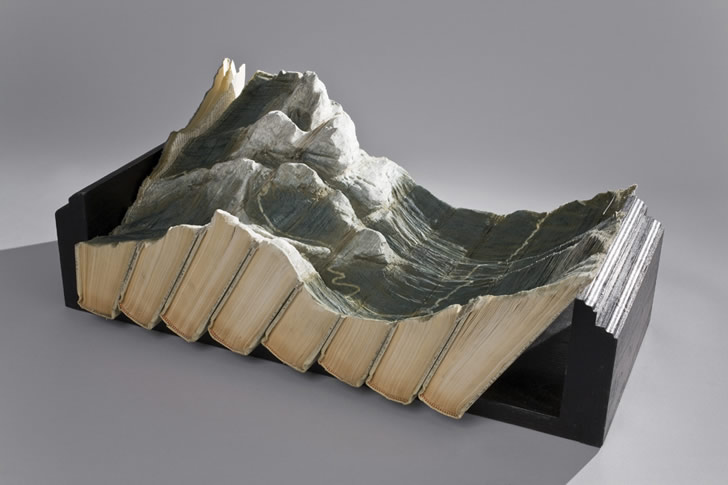 Book Sculpture by Guy Laramee (5)