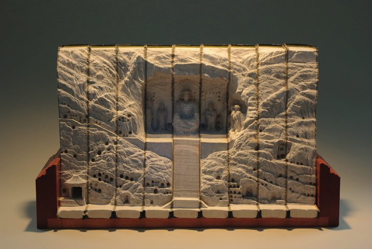 Book Sculpture by Guy Laramee (4)
