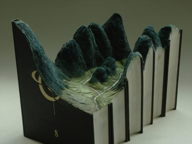 Book Sculpture by Guy Laramee (3)