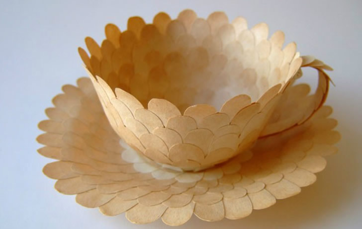 Paper teacup by Cecilia Levy (2)