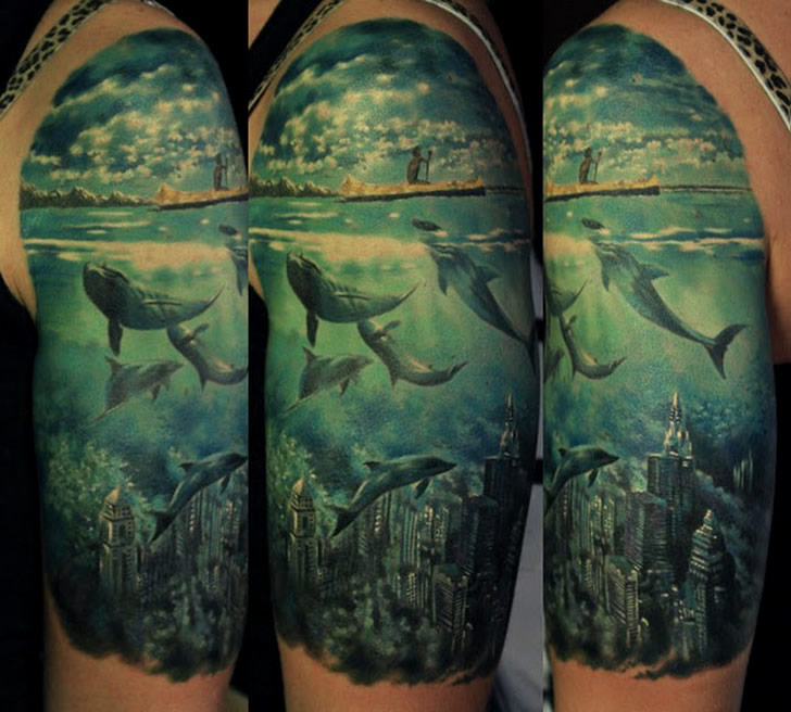 Amazing Illustrations on Skin