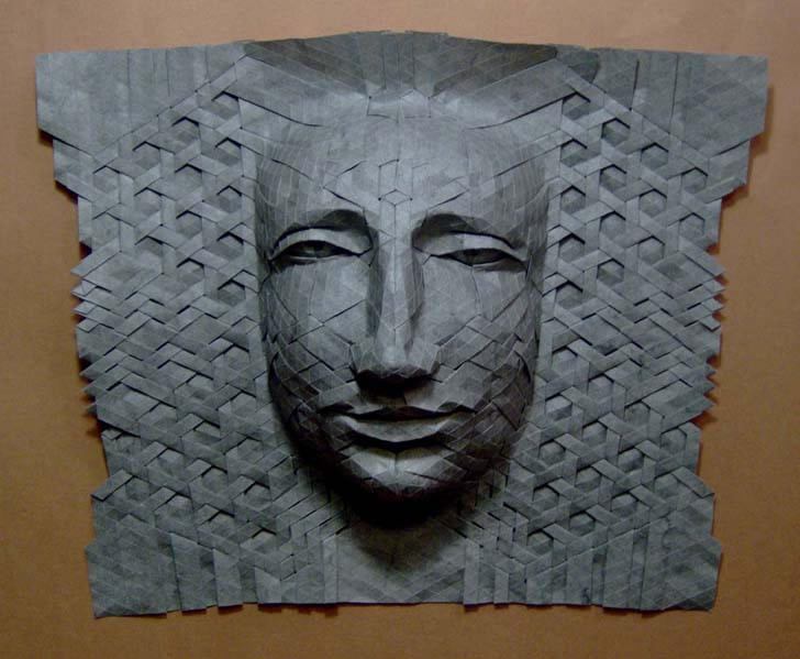 Intricate Origami Masks