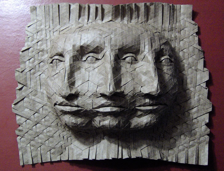 Origami mask by Joel Cooper (3)