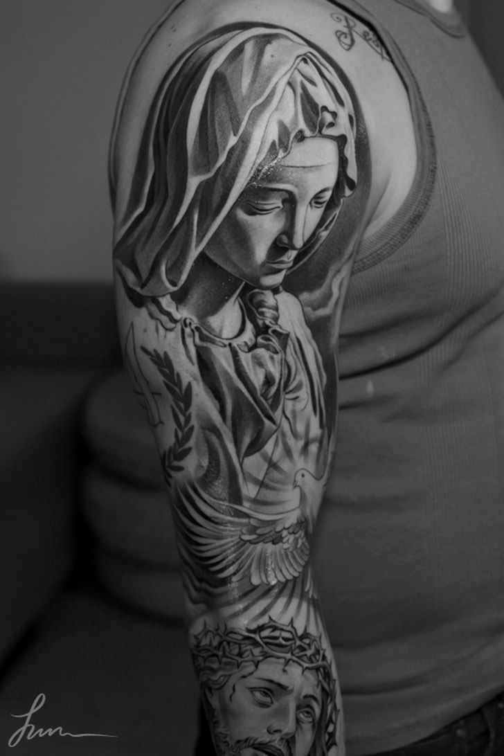 Tattoo by Jun Cha (5)