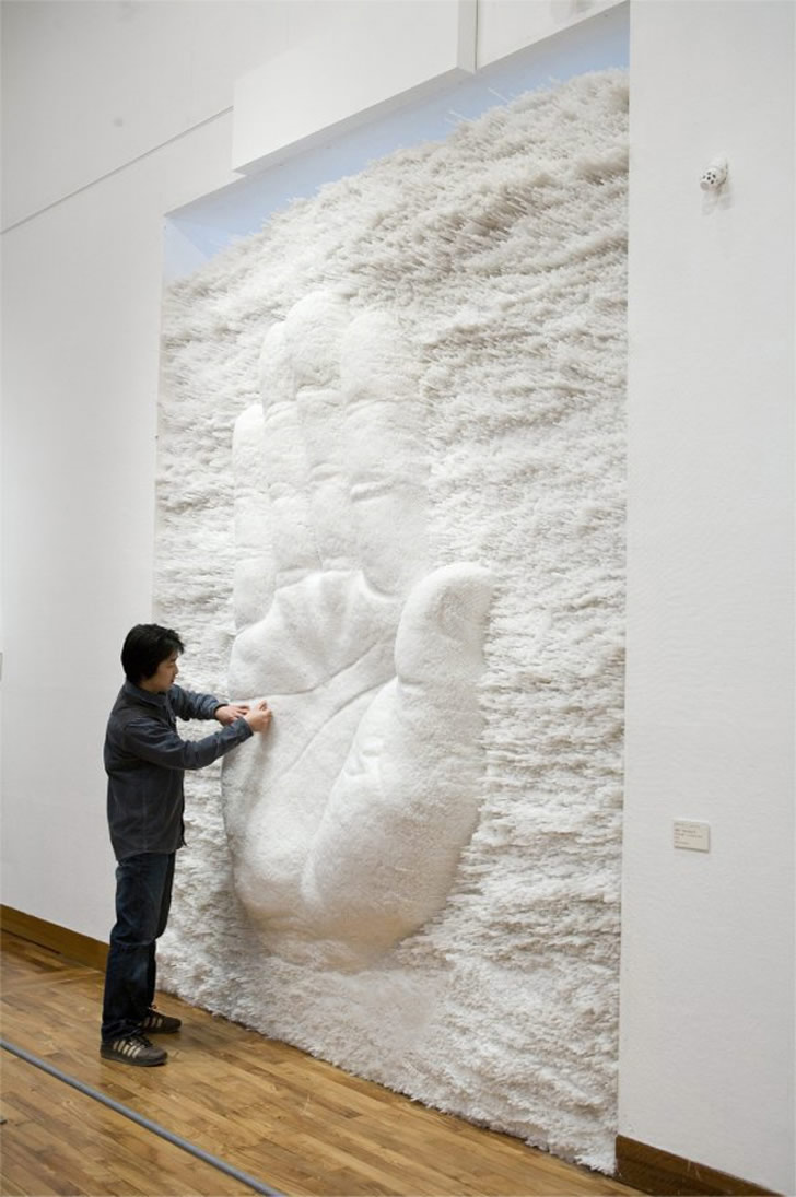 Straw Sculpture by Sang Sik Hong (1)