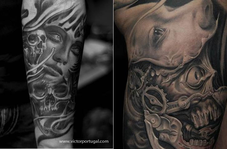 Tattoo art by Victor Portugal (6)