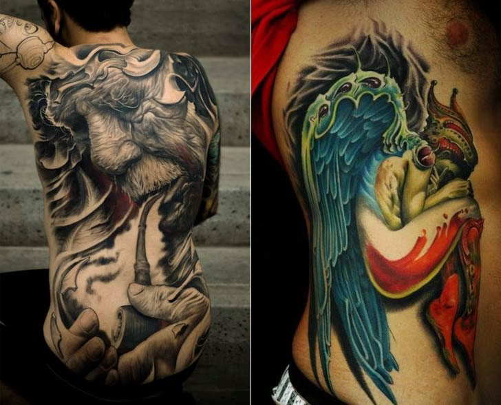 Tattoo art by Victor Portugal (1)