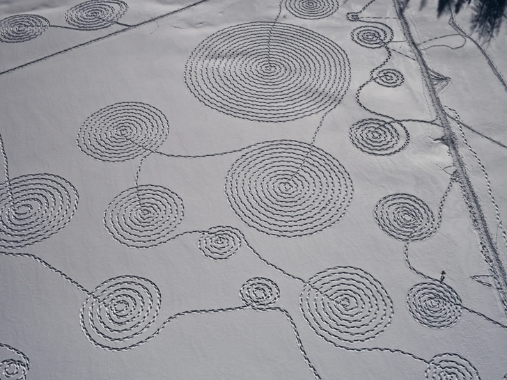 Circles in the Snow by Sonja Hinrichsen (4)