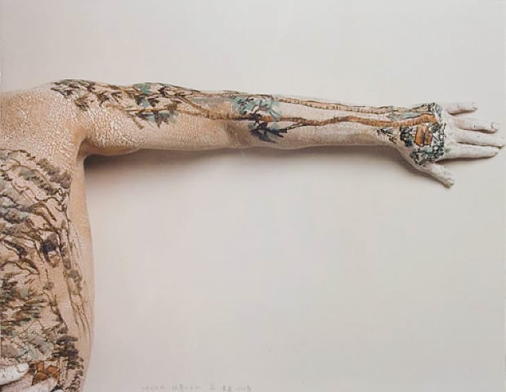 Body painting by Huang Yan (3)