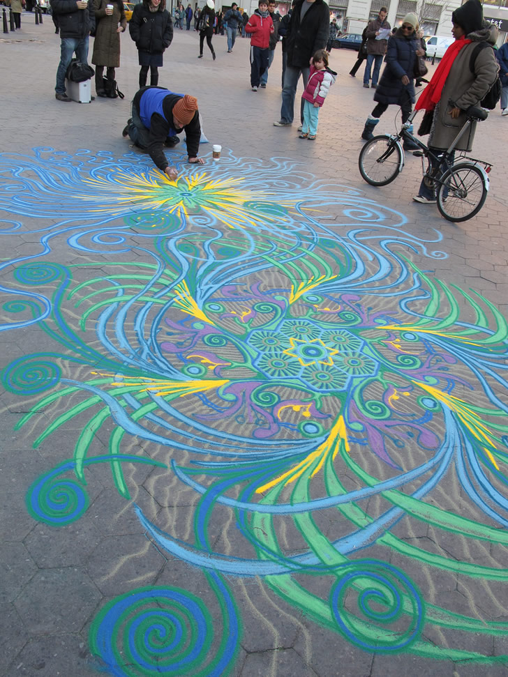 Sand painting by Joe Mangrum (3)