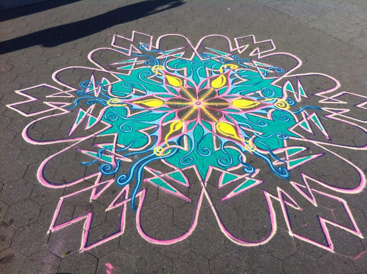 Sand painting by Joe Mangrum (1)
