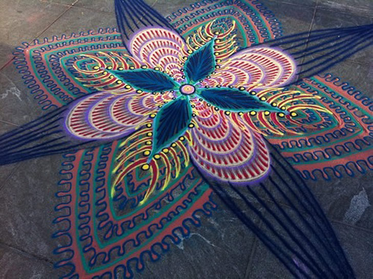 Sand painting by Joe Mangrum (5)