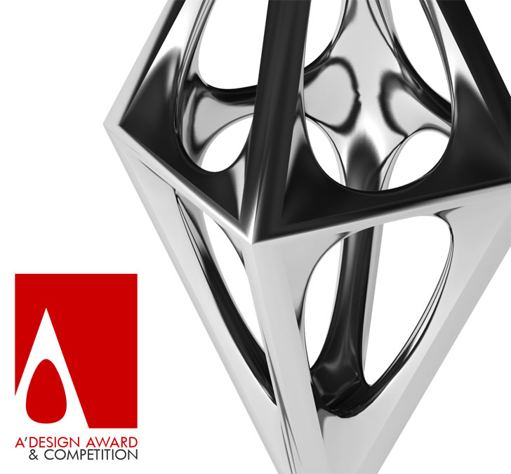 Trophy of the A' Design Award and Competition