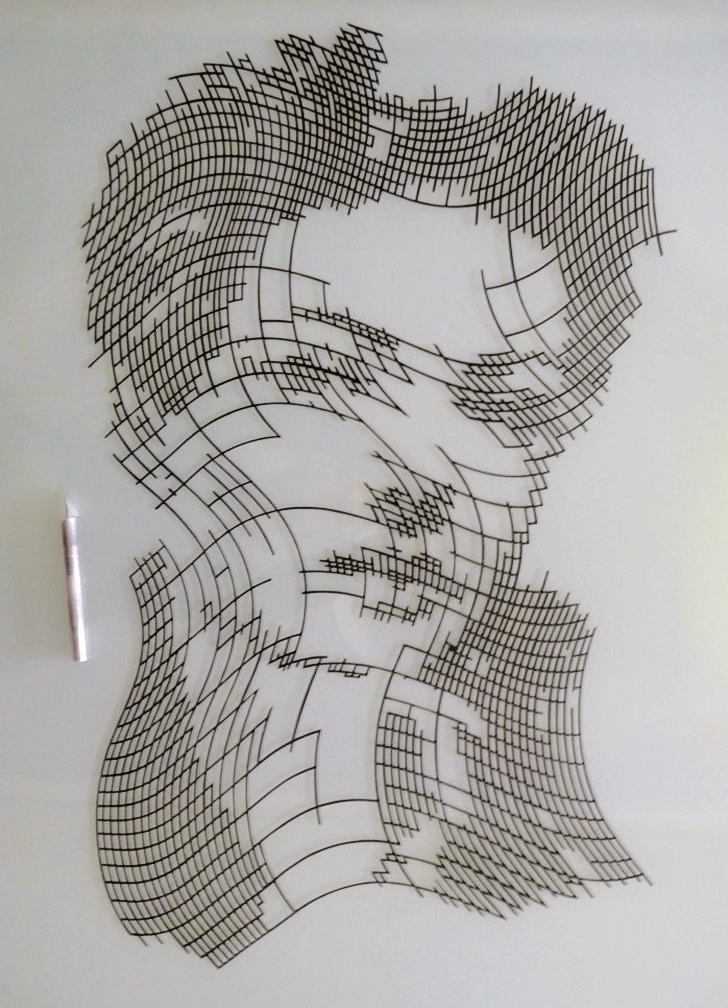 Paper cut Portraits by Trappeniers (2)