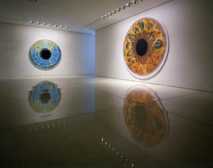 Eye painting by Marc Quinn (3)