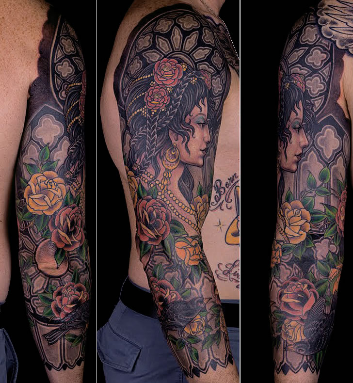 Tattoo by artists from RedLetter1 (1)