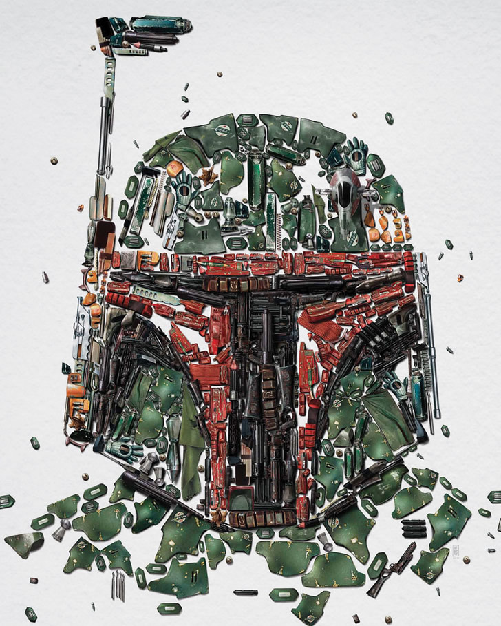 "Star Wars ""Identities"" Posters (3)"