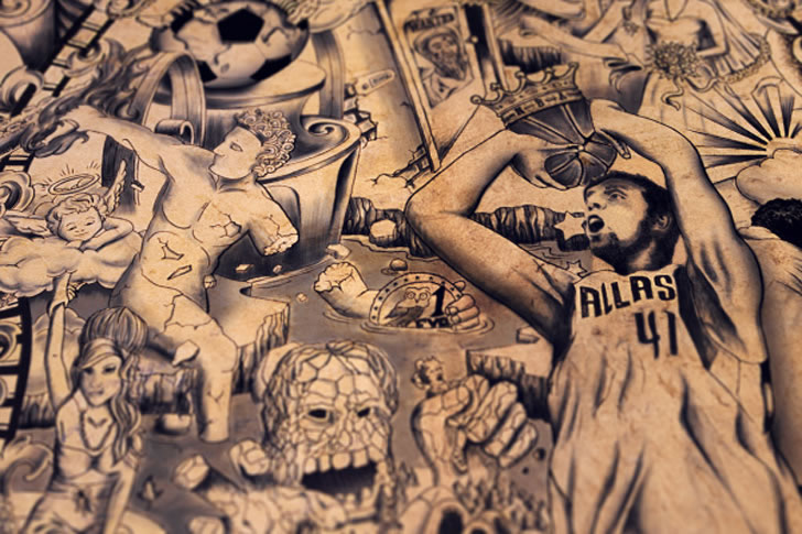 The Tattooed Poster  (5)