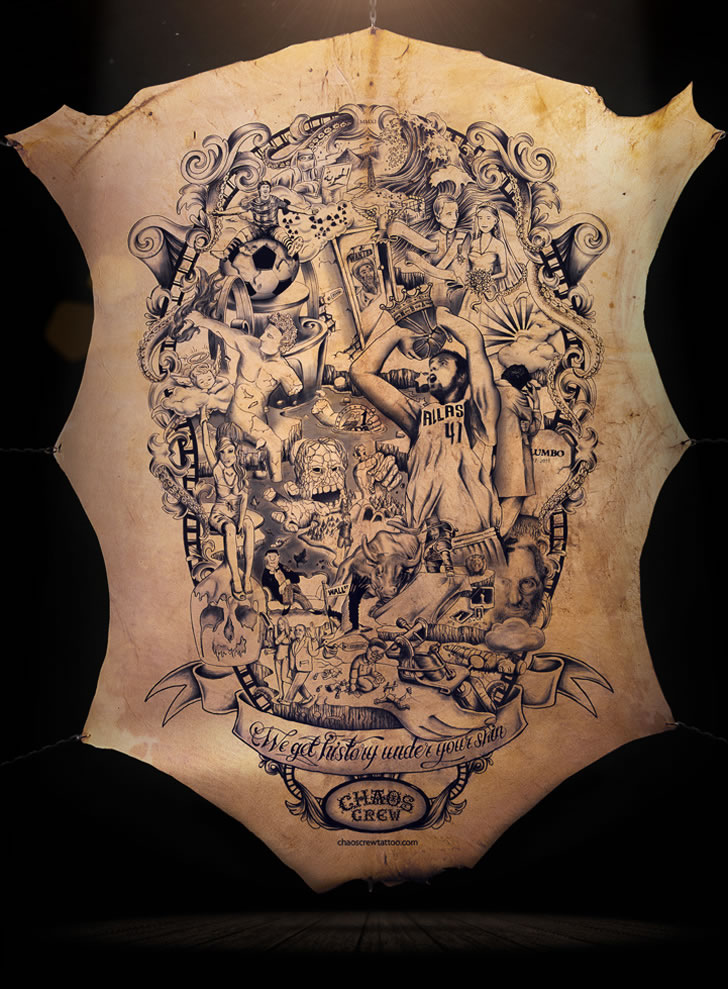 The Tattooed Poster  (4)