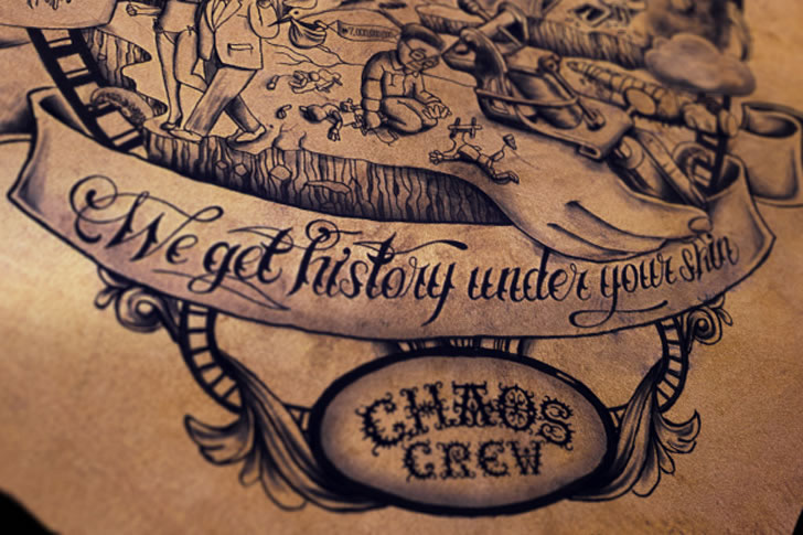 The Tattooed Poster  (3)