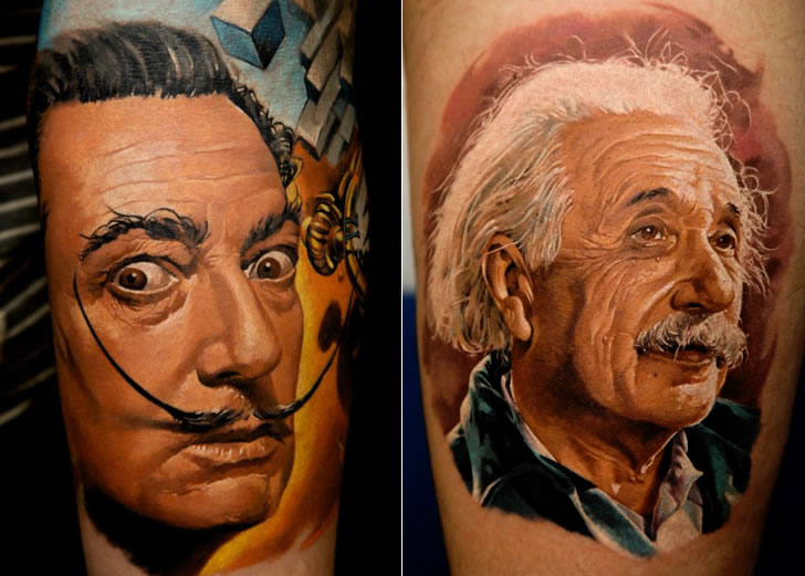 Amazing tattoo art by Dmitriy Samohin (1)