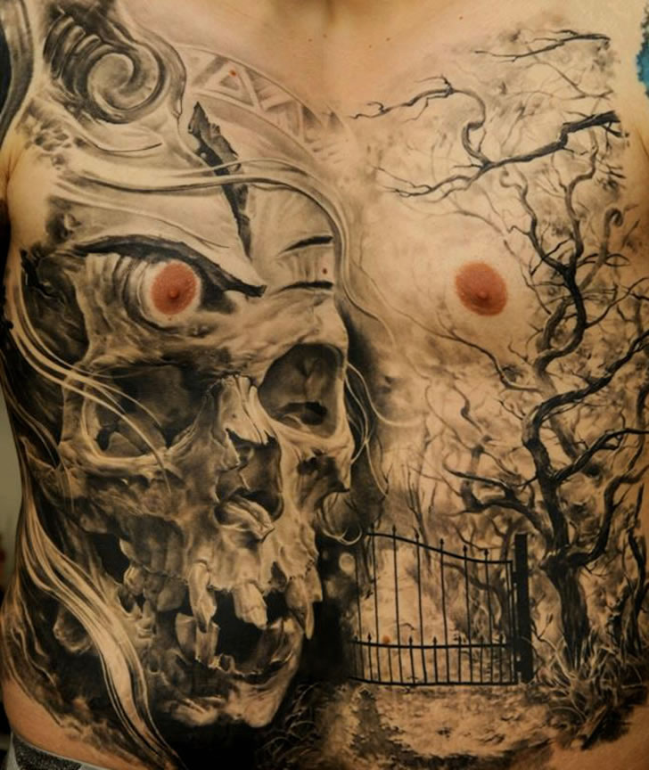 Amazing tattoo art by Dmitriy Samohin (6)