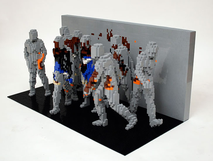Lego art by Nathan Sawaya (4)