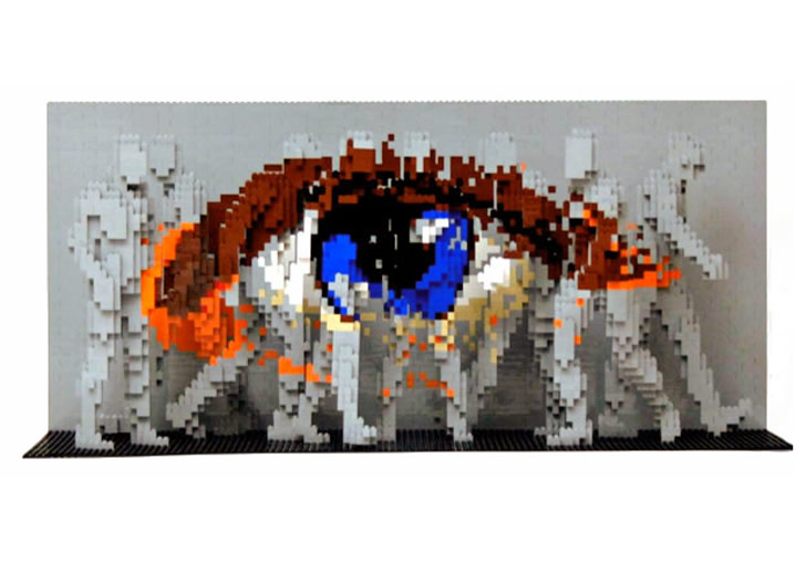 Lego art by Nathan Sawaya (3)