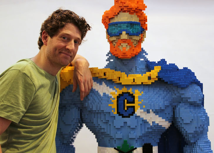 Lego art by Nathan Sawaya (2)