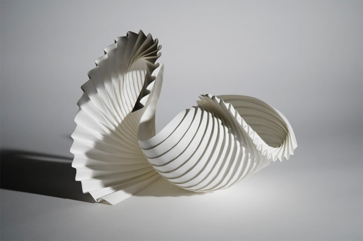 Paper sculpture by Richard Sweeney (1)