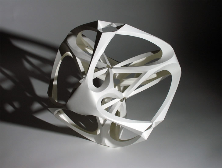 Paper sculpture by Richard Sweeney (5)