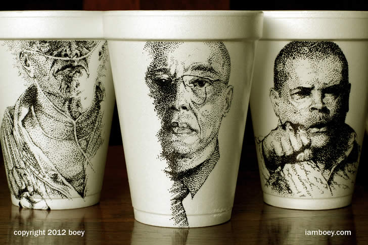 Drawing on coffee cup by Cheeming Boey (5)