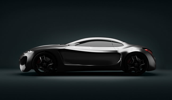Concept car, Jaguar XkX by Skyrill and Marin Myftiu (1)