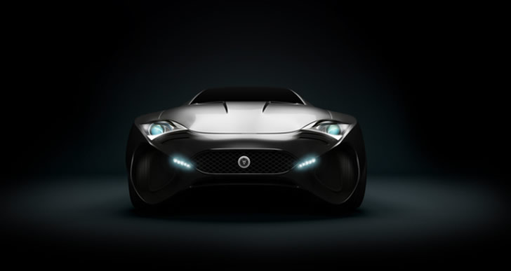 Concept car, Jaguar XkX by Skyrill and Marin Myftiu (7)