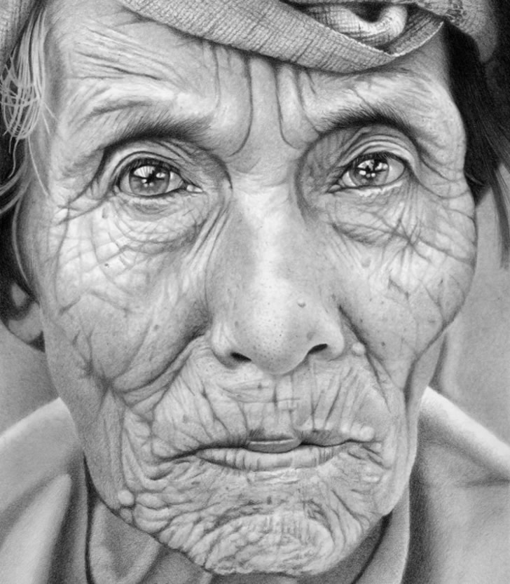 Realistic drawing by Mark Stewart (3)