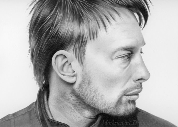 Realistic drawing by Mark Stewart (4)