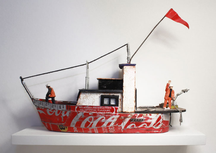 Miniature sculpture by Nic Joly (2)