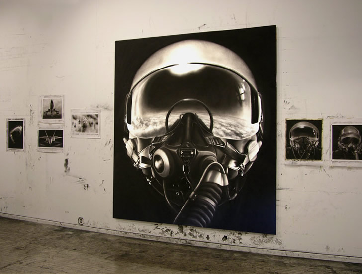 Drawing by Robert Longo (5)