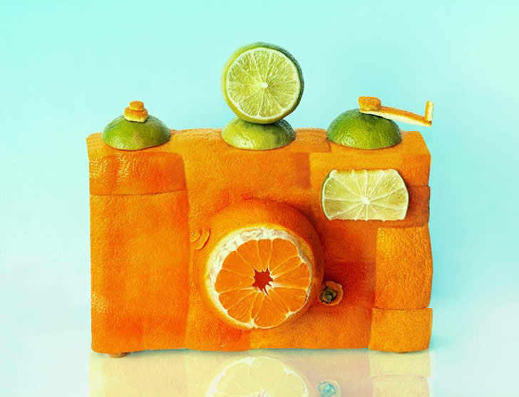 Fruit and Vegetable sculpture by Dan Cretu (3)