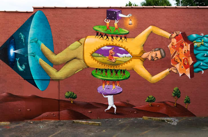 Street Art: The Crazy Body Parade