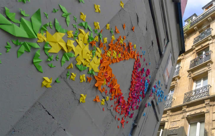 Origami Graffiti by Mademoiselle Maurice (5)