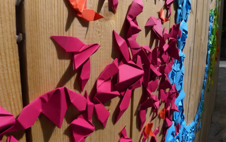 Origami Graffiti by Mademoiselle Maurice (3)