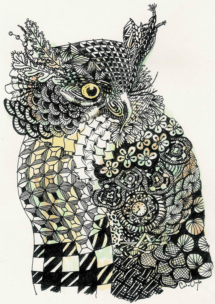 Patterned Animals Scene60 Adorable Patterned Animals