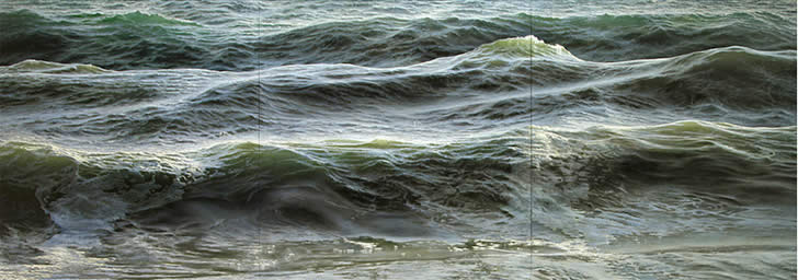 Realistic sea painting by Ran Ortner (5)