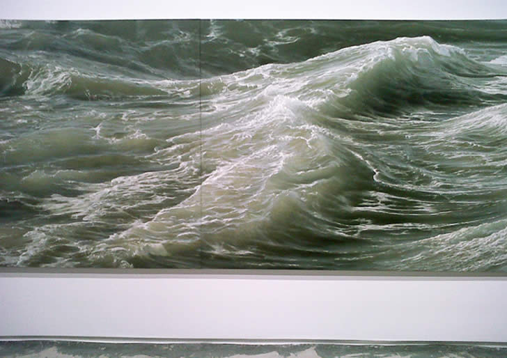 Realistic sea painting by Ran Ortner (3)