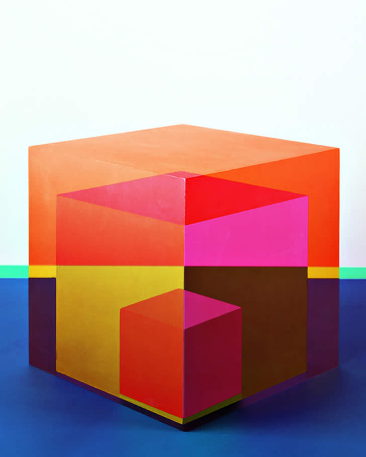 Cube Optical illusion by Jessica Eaton (4)
